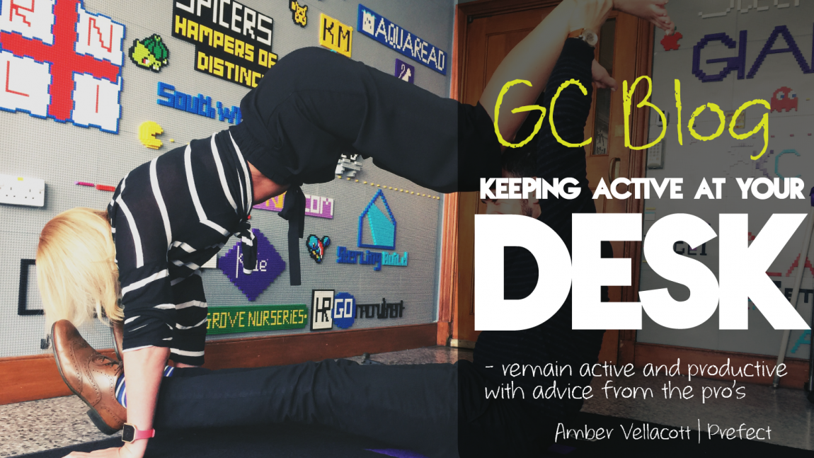 Officising – Keeping active at your desk