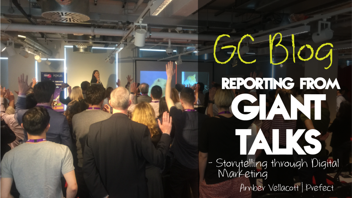 Giant Campus takes on London: #GIANTtalks
