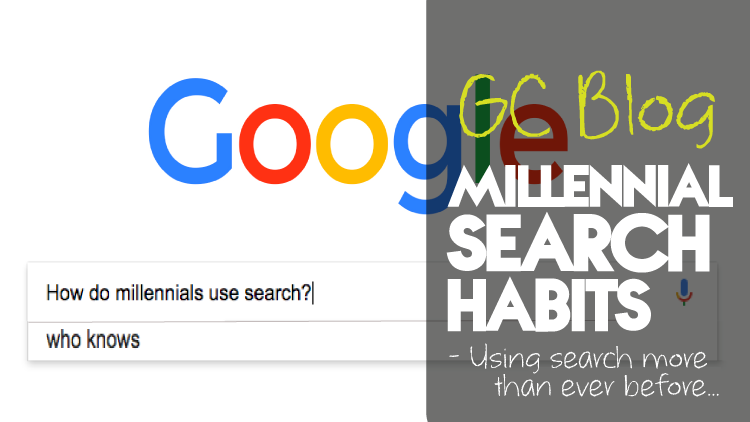 Millennial search habits