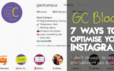 Top 7 ways to optimise your Instagram account